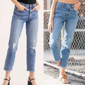 Levi's Wedgie Premium Icon Fit Jean Truth Unfolds